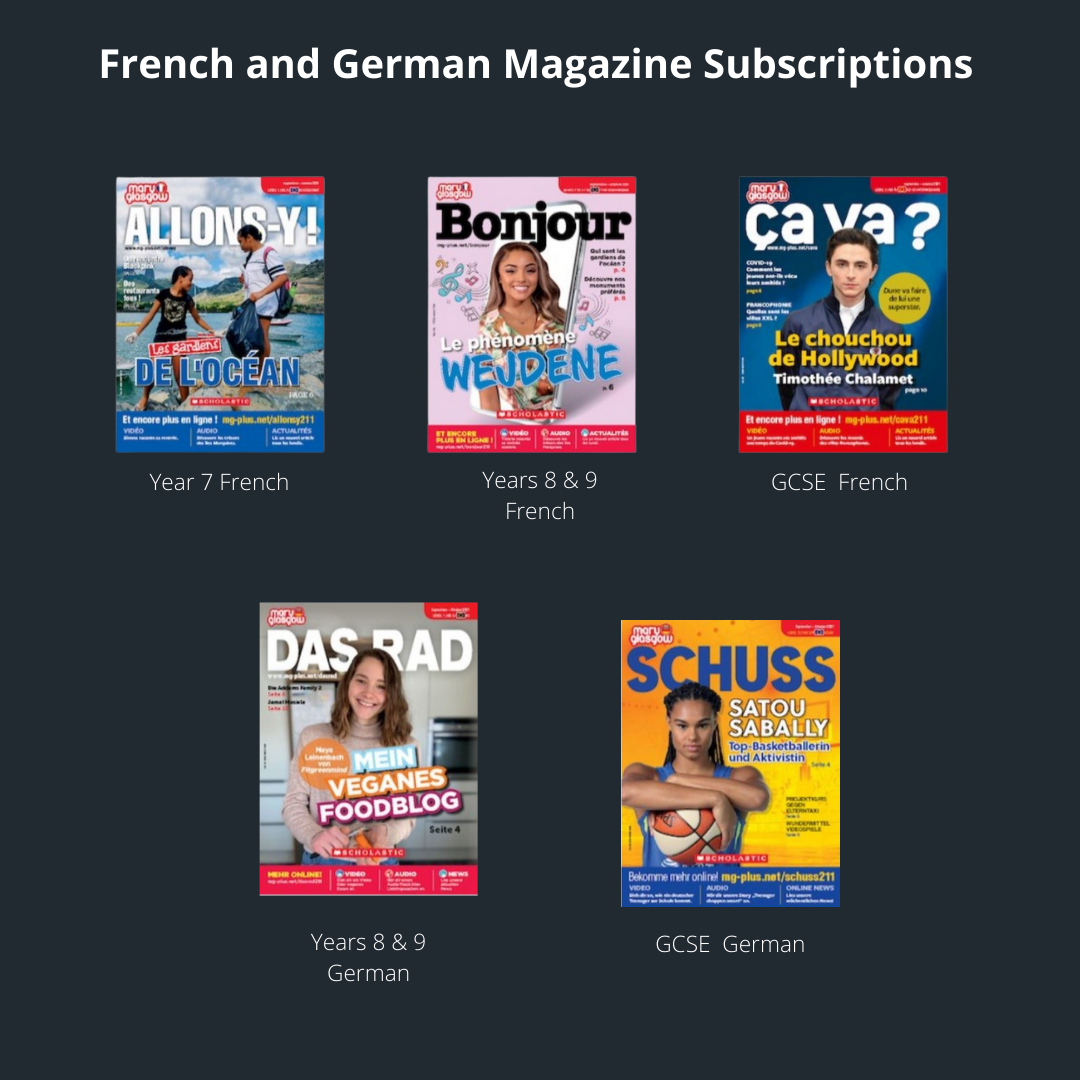French and german magazine subscripstions
